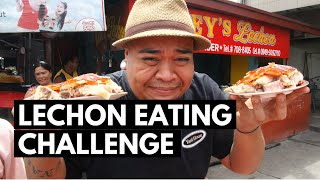 CERTIFIED Patay Gutom - Lechon Eating Challenge