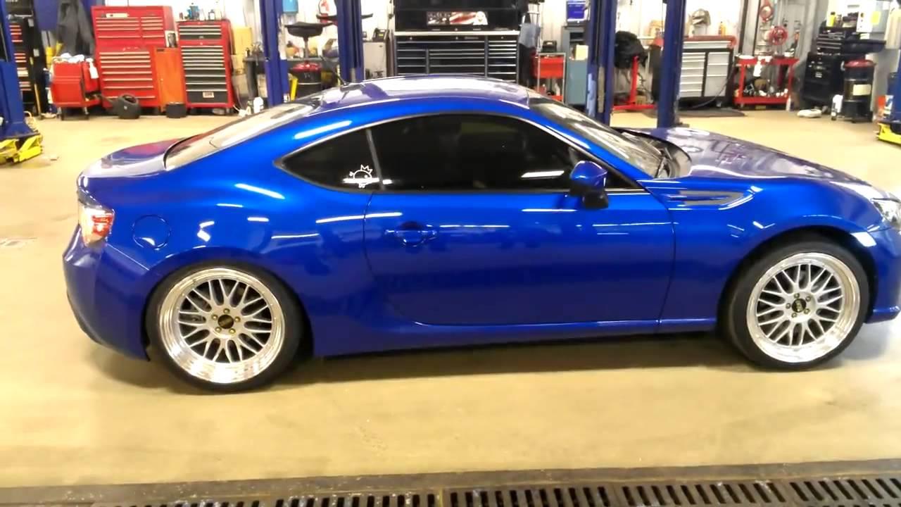 Subaru Brz Turbo >> Subaru BRZ airlift performance suspension - YouTube
