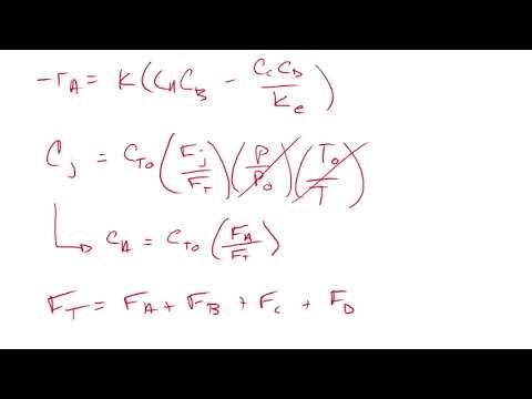 Reactions Engineering Project by Talon Bullard, Chad Wilder, Adam White
