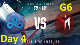 C9 vs IM Game 1 Highlights - 2016 Worlds Group Stage - Day 4