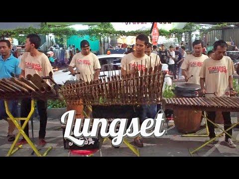 LUNGSET - Angklung Malioboro Calung Funk (Pengamen kreatif Jogja) Mahesa feat Vita Alvia