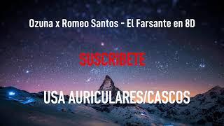 Ozuna x Romeo Santos - El Farsante | MÚSICA EN 8D