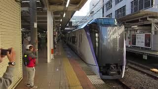 E353系「かいじ102号」 立川駅発車