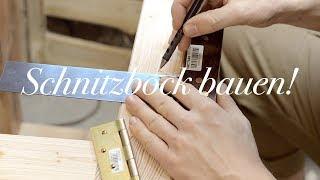 Schnitzbock👍selber bauen!👨🔧 Meine Vorgehensweise zum bauen eines Schnitzbock's🦌