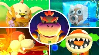 Poochy & Yoshi's Woolly World - All Bosses (No Damage)