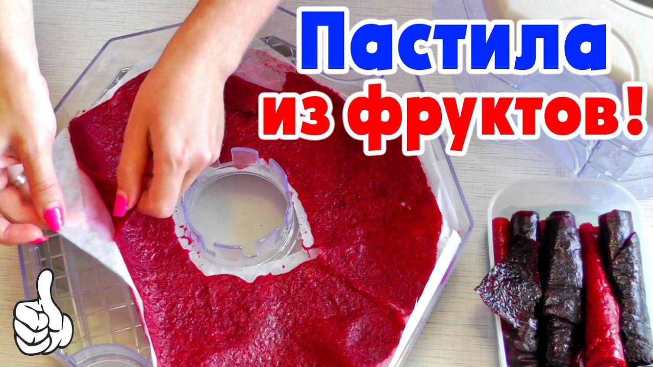 ФРУКТОВАЯ ПАСТИЛА из клубники, смородины и вишни | Видео рецепты для детей от Delicious food