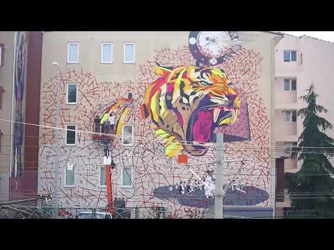Mural İstanbul Festivali Duvar Resimleri