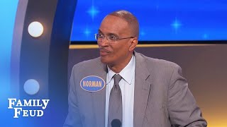 Steve Harvey CRACKS UP! | Family Feud