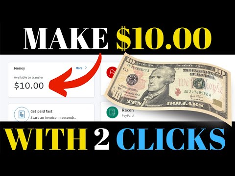 Easiest Way To Make Money Online - Earn $10.00 Over & Over Again