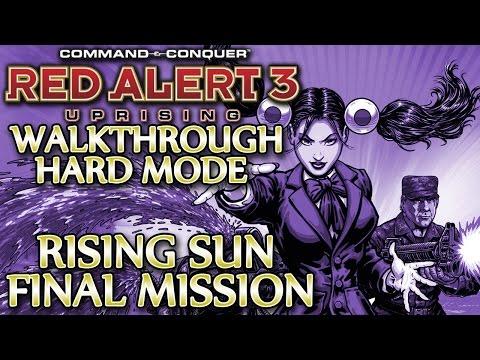 Ⓦ Red Alert 3 Uprising Walkthrough ▪ Hard - Empire Final Mission ▪ Vladivostok