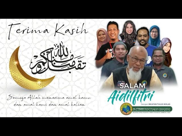 Salam Aidilfitri 1440 H/2019 dari kami! Eid Mubarak from all of us at Al-I'tisam Relief Program