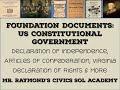 Foundation Documents - Civics SOL Exam: Virginia Declaration of Rights, etc.