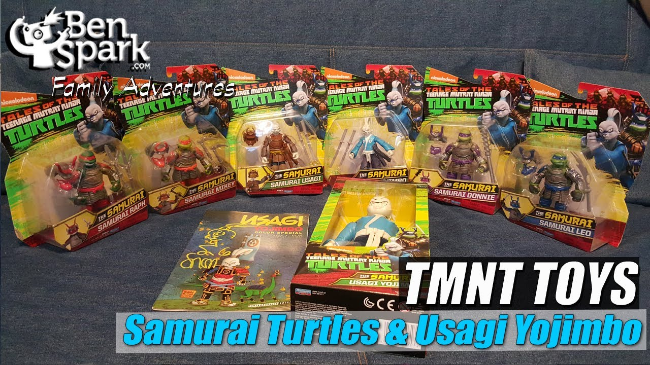 Review Tmnt The Samurai Toys With Usagi Yojimbo And A Giveaway