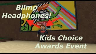 How to Get the Blimp Headphones - ROBLOX Kids Choice Awards Event