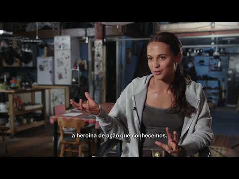 Alicia Vikander fala sobre personagem Lara Croft em vídeo de Tomb Raider – A origem