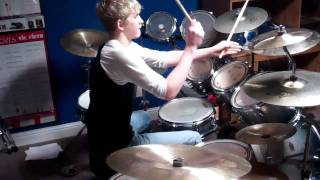 2112: Overture/The Temples of Syrinx- Rush Drum Cover