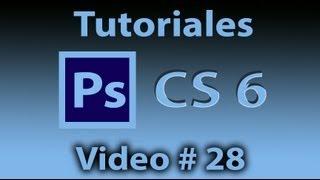Tutorial Photoshop CS6 # 28 ¿Cómo usar las Herramientas Marco rectangular y elíptico?. liclonny