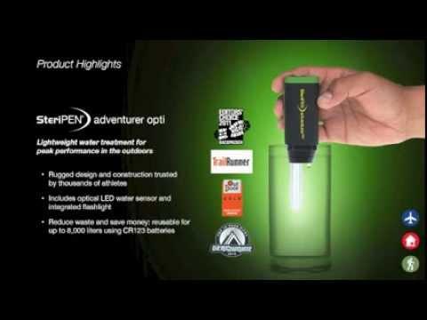 Steripen Adventurer Opti Clinic Video Youtube