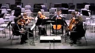 Octet in Eb Major, op. 20  I.   Allegro moderato ma con fuoco        Felix Mendelssohn (1809-1847)
