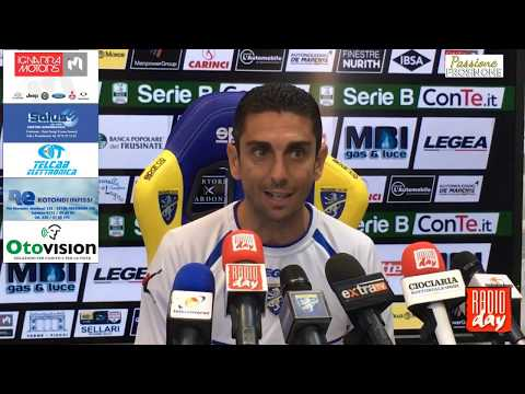 17/05/2018: Pre Frosinone – Foggia, conferenza stampa Moreno Longo