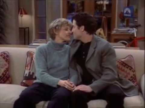 Ellen DeGeneres's kisses (part 3) Sitcom