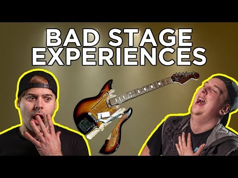 Most Embarrassing On Stage Moments
