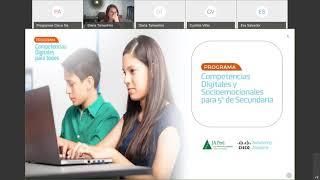 CHARLA INFORMATIVA   PROGRAMA COMPETENCIAS DIGITALES PARA TODOS 20200630 1605 1