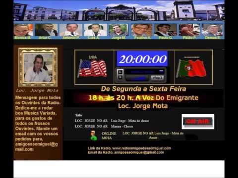 Radio Amigos de Sao Miguel - Gravação A Voz do Emigrante 20 de Janeiro 2016