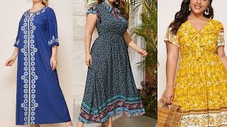 40 BOHO Dresses or How a PLUS SIZE Woman Looks Stunning 28