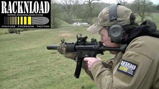 GSG MP5 SD 22 Lr RANGE TIME Catton Park By RACKNLOAD