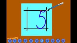 УЧИМСЯ ПИСАТЬ ЦИФРЫ от 0 до 10,ЦИФРЫ ПРОПИСЬЮ,цифры для детей,обучающий мультик ЦИФРЫ