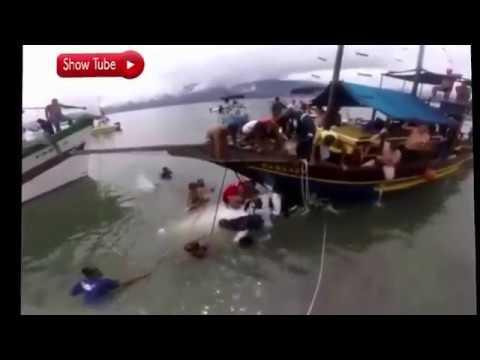 ✈️ Resgate do acidente em Paraty