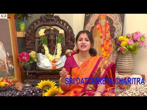 DATTATREYA CHARITRA | Dattatreya Stotram | Dattatreya Story By Singer Vasanthika