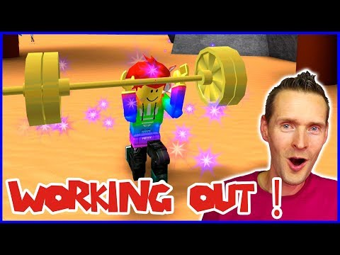 GETTING BUFF LIFTING WEIGHTS!!! ft. CaptainJack