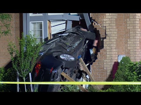 Vehicles Crash Into 3 Different GTA Homes In One Day