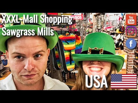 6bd9f0ff1fe Shopping in the Sawgrass Mills Mall near Miami - Travelgrapher Worldtrip  VLOG  55 2019