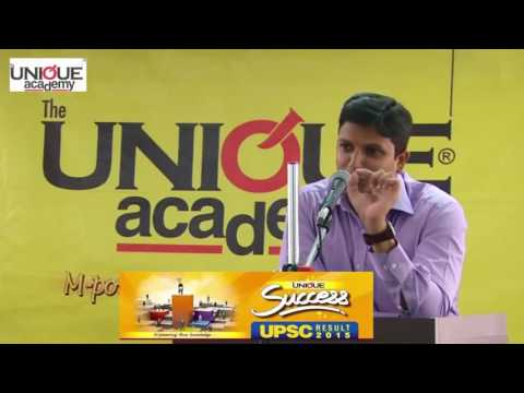 Rahul Pandve UPSC Topper 2016 Interaction with Students - Part 1