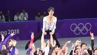 YUZURU HANYU 2018pyeongchangOG—GALA (THIS IS ME and final run)foucs