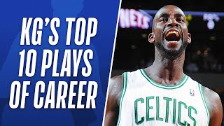 Kevin Garnett's Top 10 Plays of His Career thumbnail