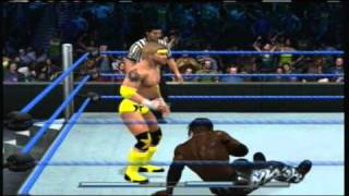 WWE Smackdown vs Raw 2011 - Zach Starr vs. R-Truth
