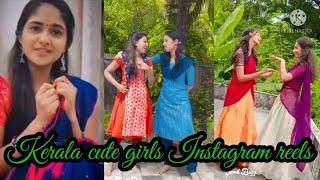 Kerala Cute Girls Instagram Reels  | Tamil Dancing Queens