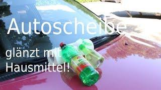 Life Hack - Autoscheibe glänzt wie Neu ! Car window shines like new