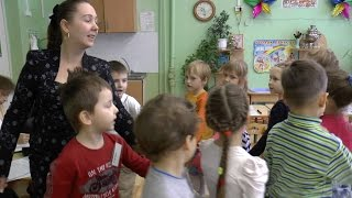 Занятие в старшей группе воспитателя Алиевой Светланы Борисовны