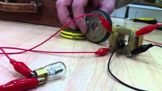 резонанс магнит геркон катушка батарейка
