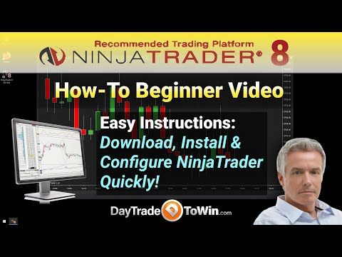 How to Setup NinjaTrader 8 – Complete Start – Beginner's Setup Guide/ Tutorial for Traders
