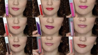 NEW Urban Decay Hi-Fi Shine Lip Gloss Review & Try-On Swatches