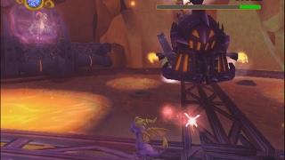 The Legend Of Spyro: A New Beginning ( Steam Train Boss + Cynder first encounter )
