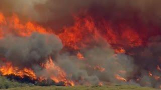 Blue Cut Fire scorches Southern California
