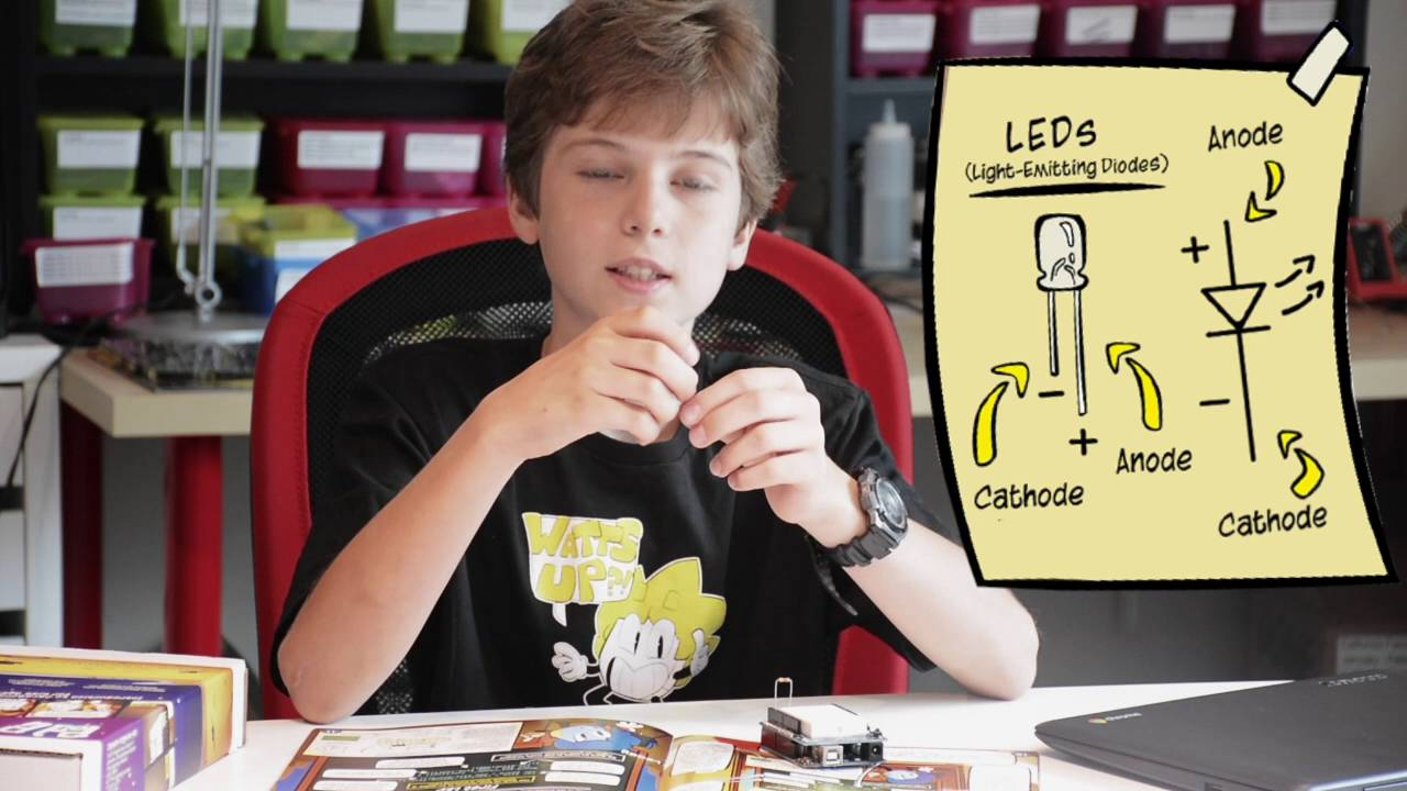 Kids arduino led and javascript lesson youtube