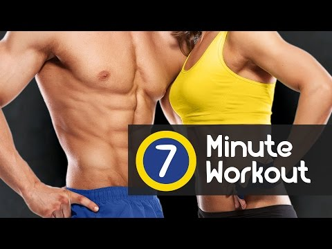 7 Minute Workout, a daily training to lose weight fast burn fat
